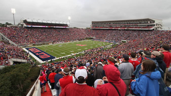 Ole Miss Football Stadium