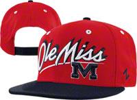 Ole Miss Snapback Hat